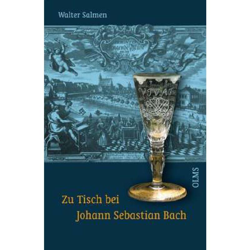 Titelbild für 978-3-487-08488-6 - ZU TISCH BEI JOHANN SEBASTIAN BACH