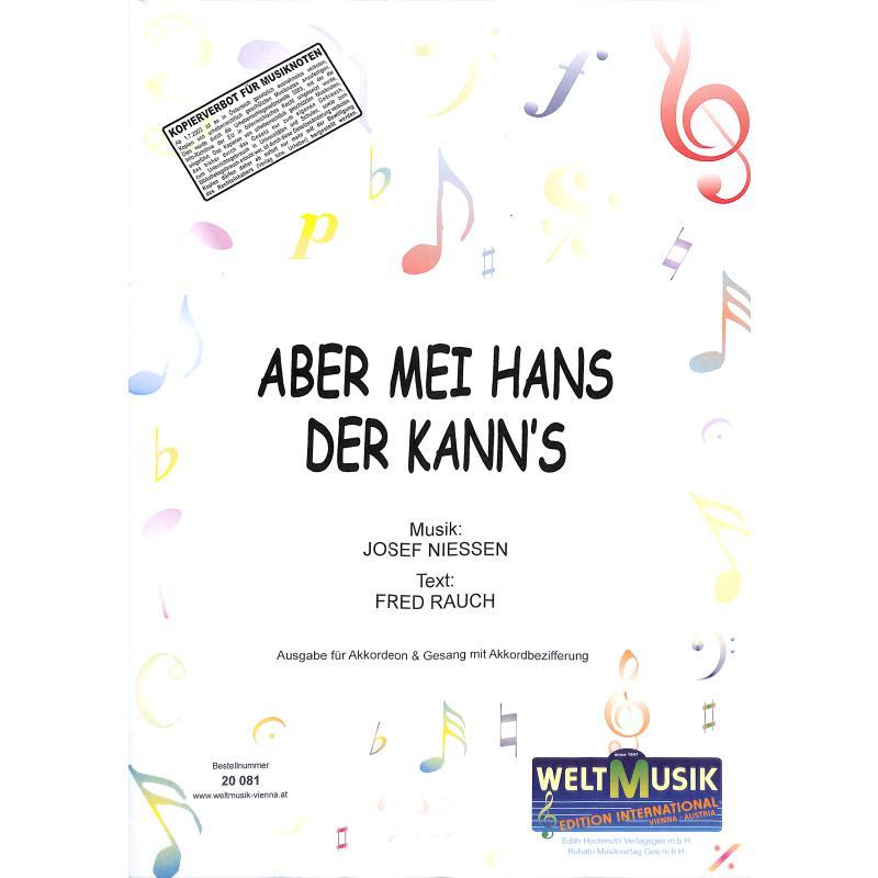Titelbild für WM 20081 - ABER MEI HANS DER KANNS