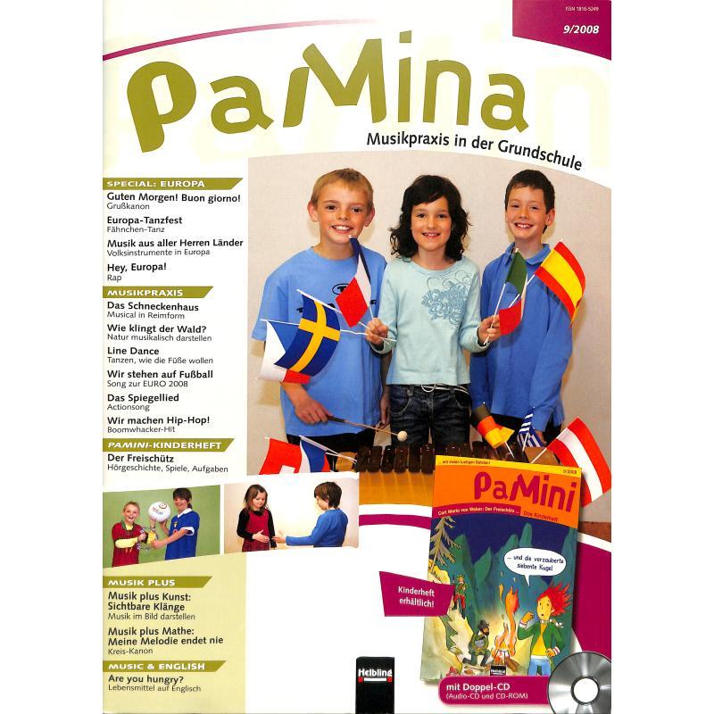 Titelbild für HELBL -S6074 - PAMINA 9/2008 - MUSIKPRAXIS IN DER GRUNDSCHULE