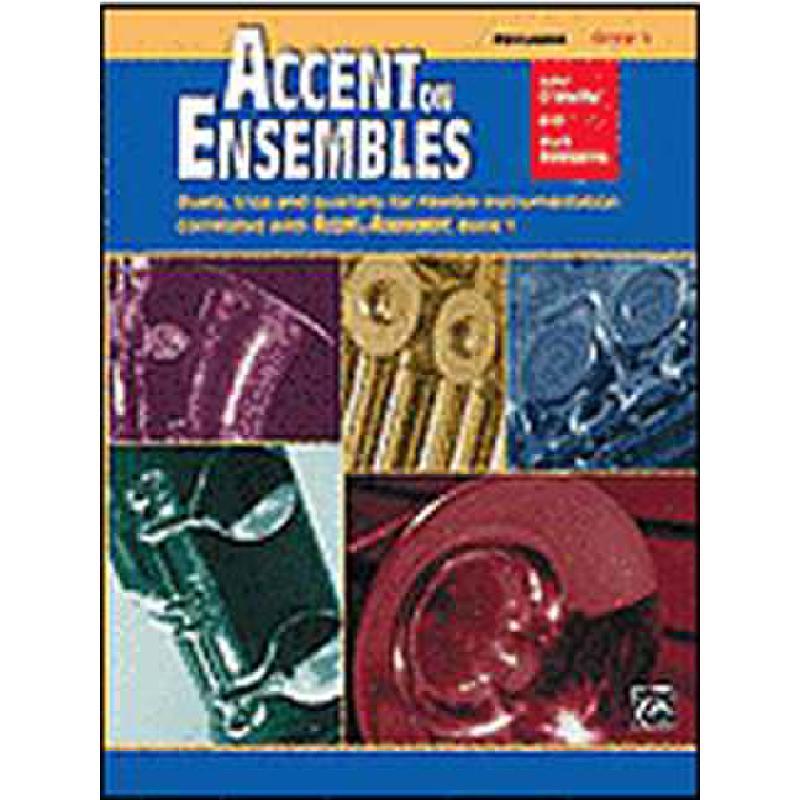 Titelbild für ALF 19622 - ACCENT ON ENSEMBLES 1