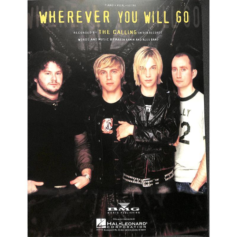 Titelbild für HL 352425 - WHEREVER YOU WILL GO