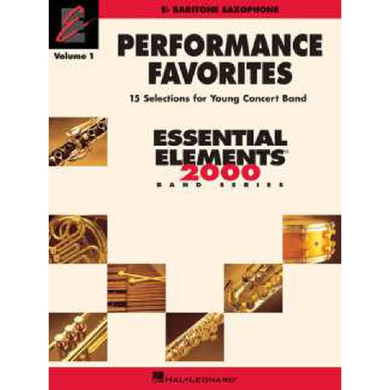 Titelbild für HL 860192 - PERFORMANCE FAVORITES 1