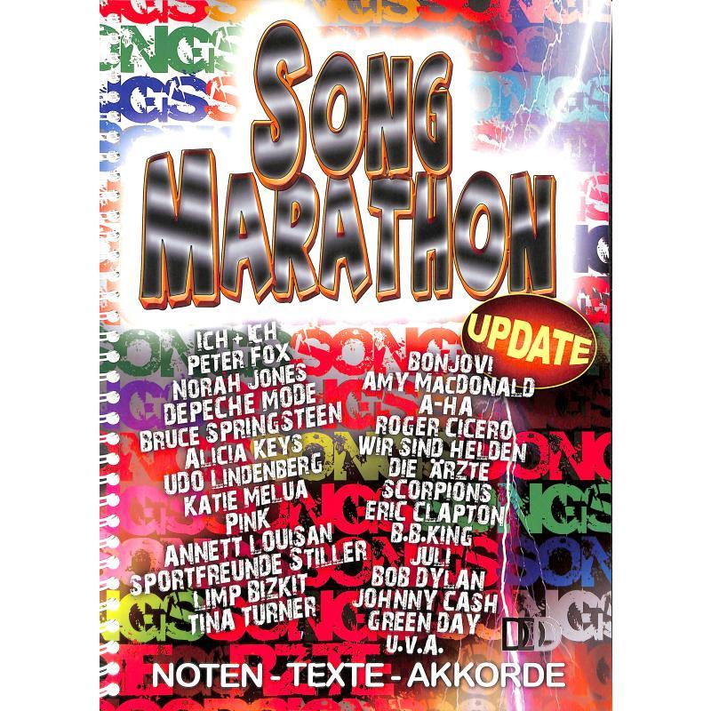 Titelbild für 978-3-941312-25-8 - SONG MARATHON UPDATE