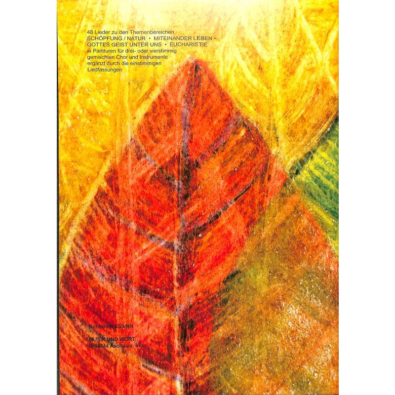 Notenbild für SALZEDER -KS9NH - ZUSAMMENWACHSEN