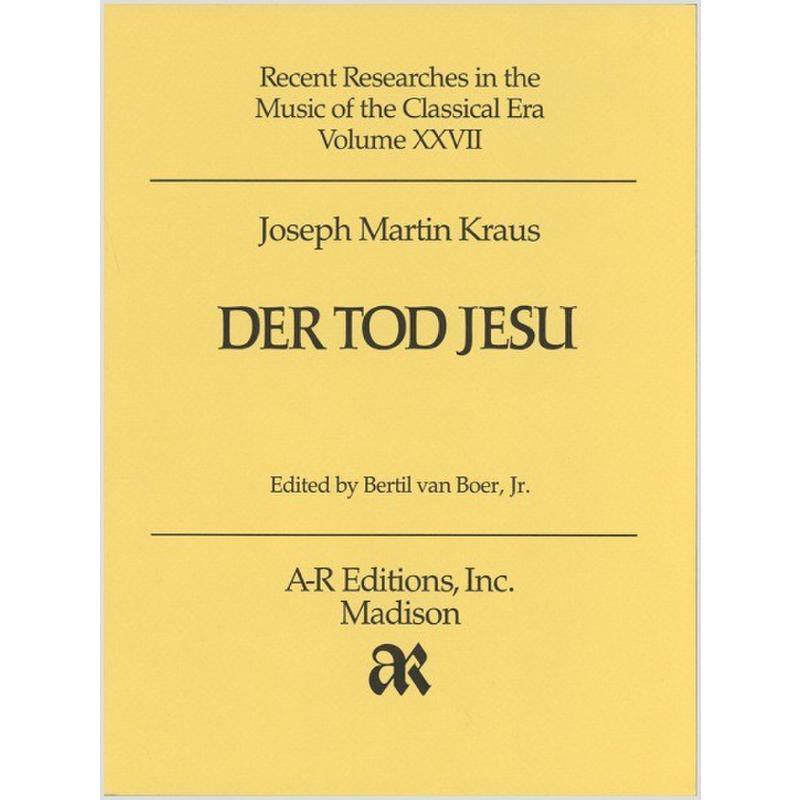 Titelbild für AREDITION -C027 - DER TOD JESU
