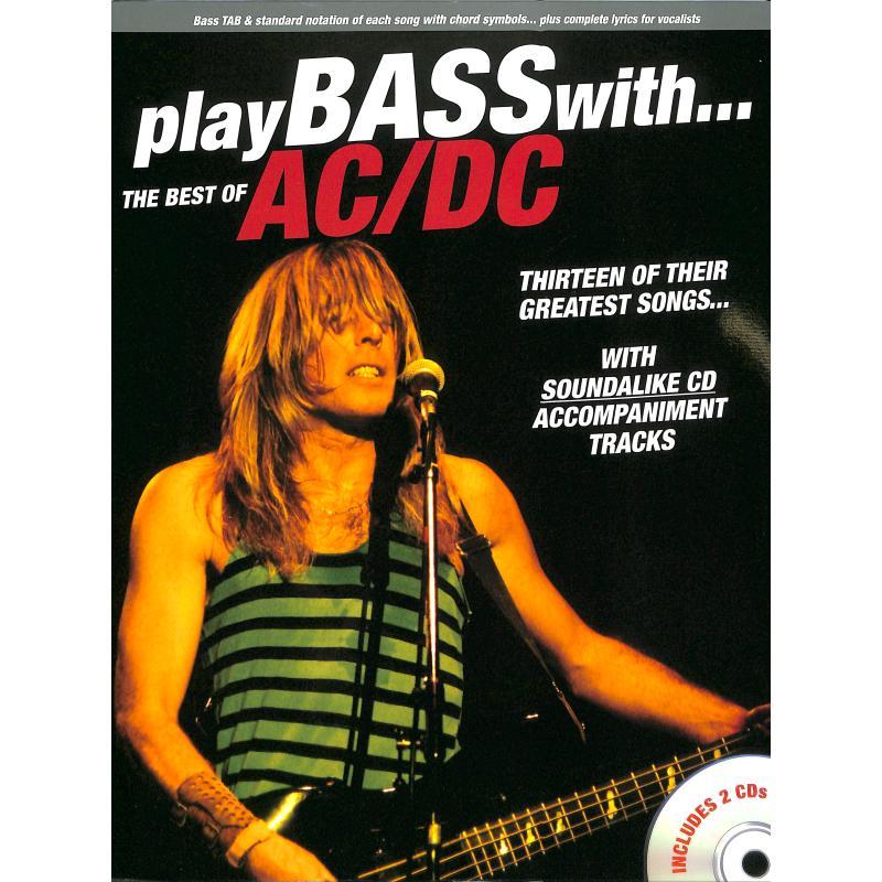 Titelbild für MSAM 1000417 - PLAY BASS WITH - THE BEST OF AC DC