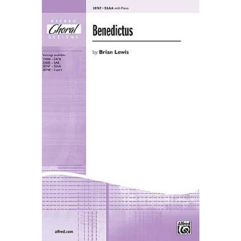 Titelbild für ALF 28767 - BENEDICTUS
