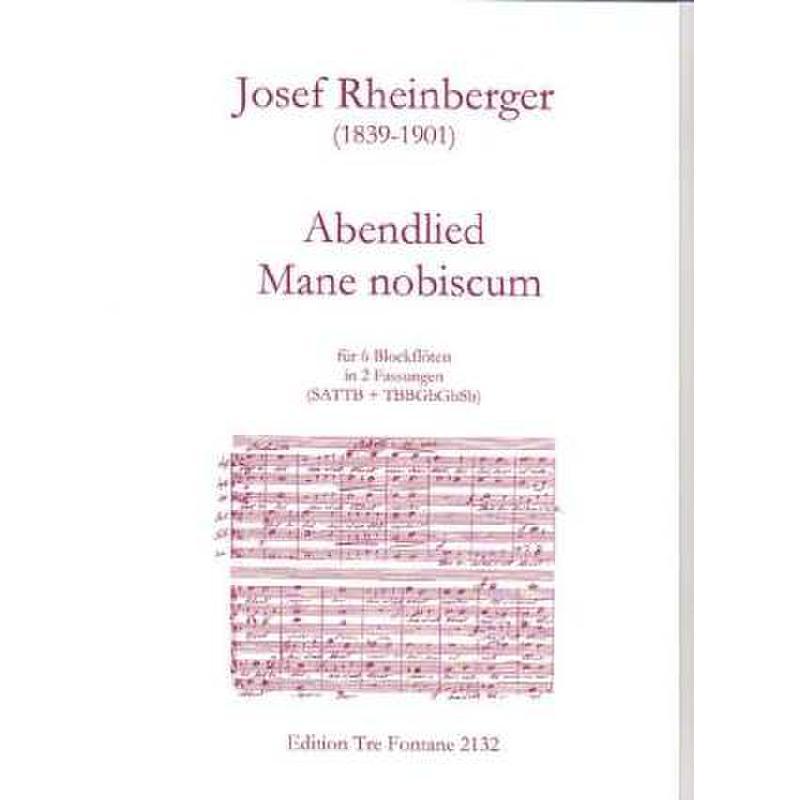 Titelbild für ETF 2132 - ABENDLIED + MANE NOBISCUM