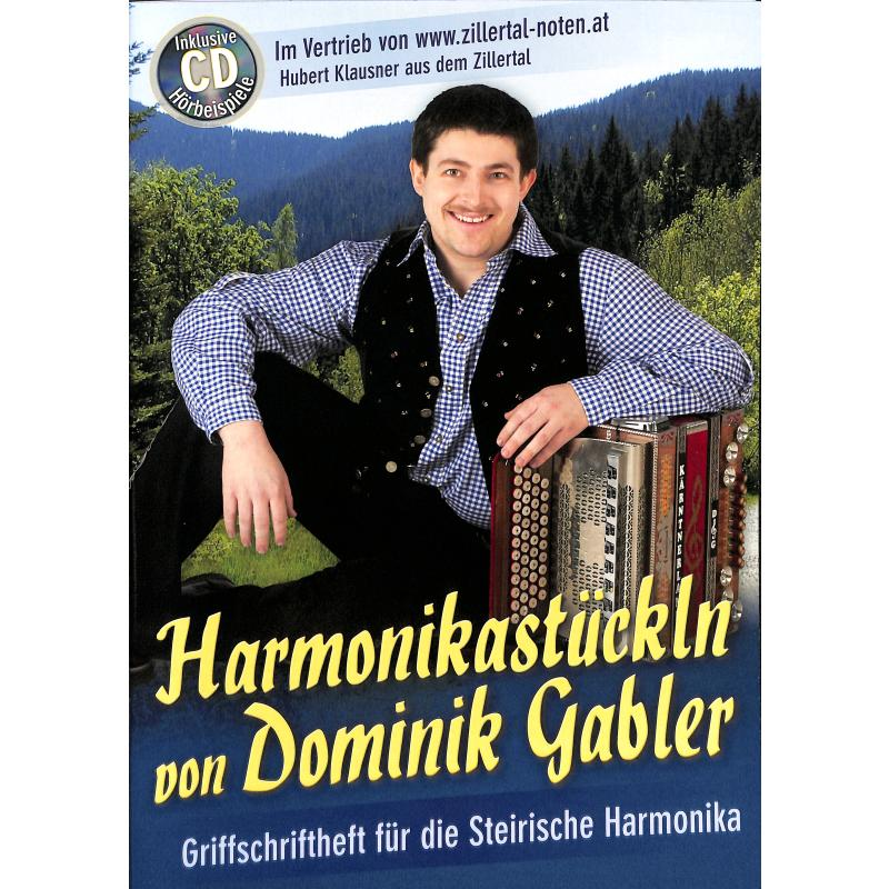 Titelbild für ZILL 10050 - HARMONIKASTUECKLN VON DOMINIK GABLER