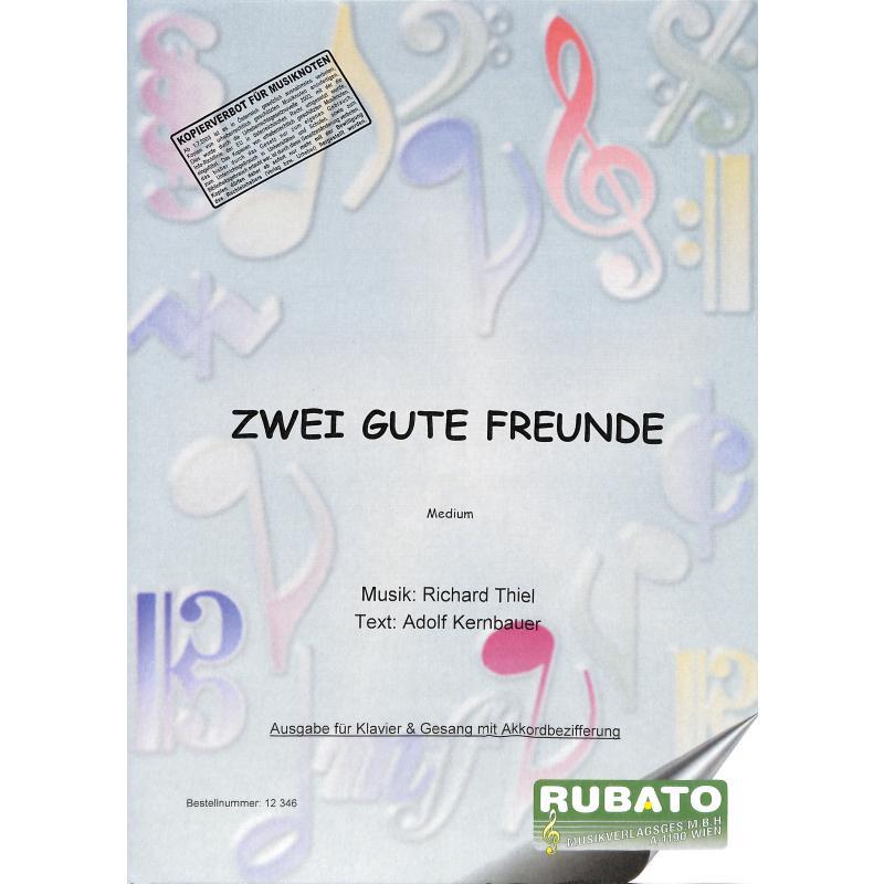 Titelbild für WM 12346 - ZWEI GUTE FREUNDE