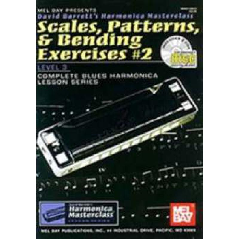 Titelbild für MB 99112BCD - SCALES PATTERNS + BENDING EXERCISES 2