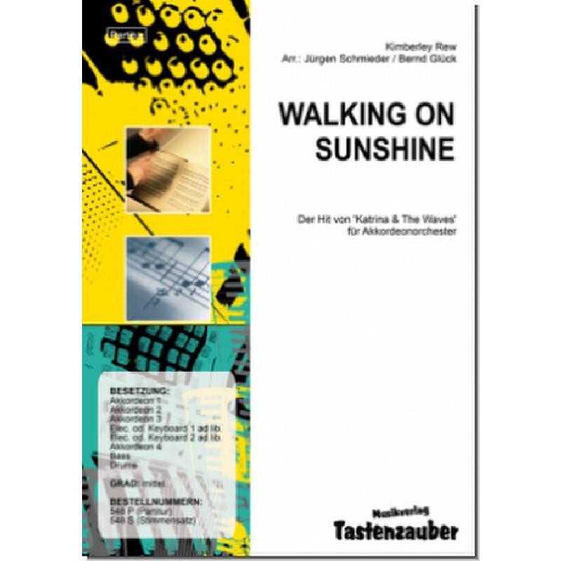 Titelbild für TAST 548-P - WALKING ON SUNSHINE