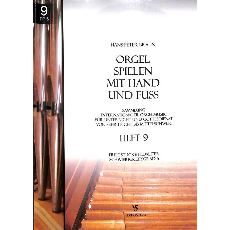Titelbild für VS 3317I - ORGEL SPIELEN MIT HAND UND FUSS 9