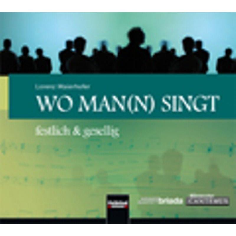 Titelbild für HELBL -C6080CD - WO MAN(N) SINGT - FESTLICH & GESELLIG