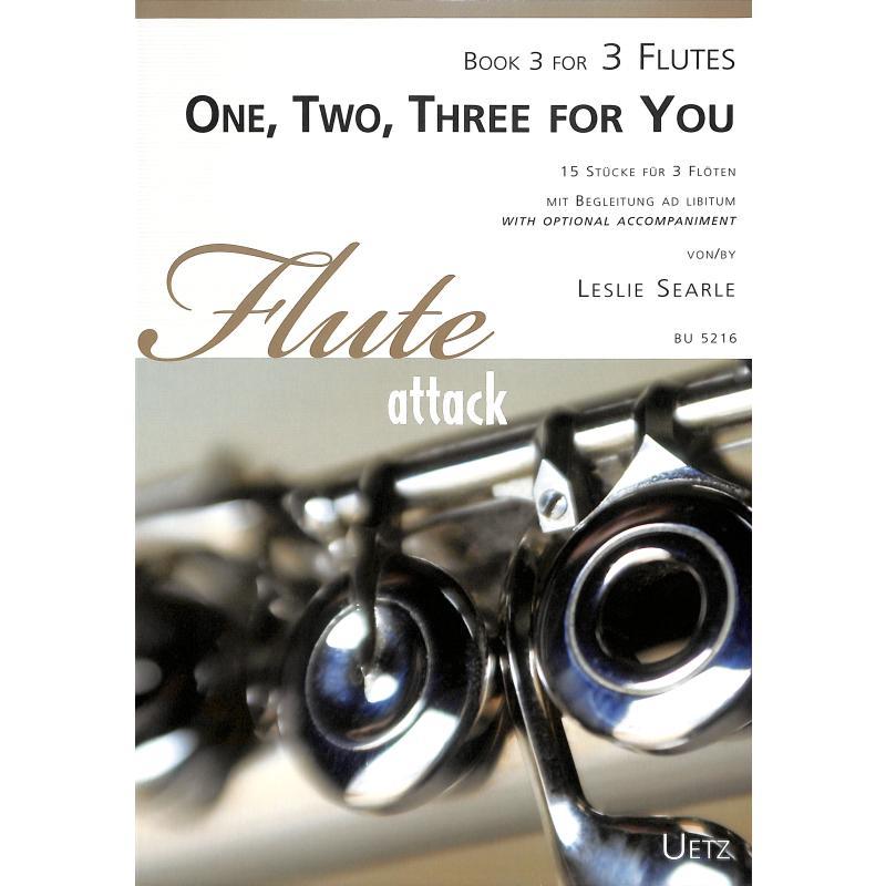 Titelbild für UETZ 5216 - ONE TWO THREE FOR YOU