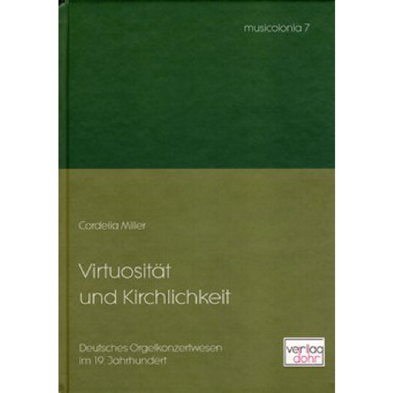 Titelbild für DOHR -B68-1 - VIRTUOSITAET UND KIRCHLICHKEIT