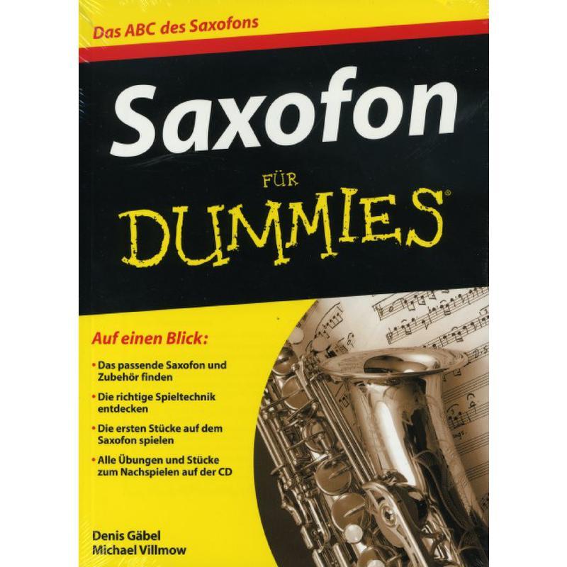 Titelbild für 978-3-527-70405-7 - SAXOFON FUER DUMMIES