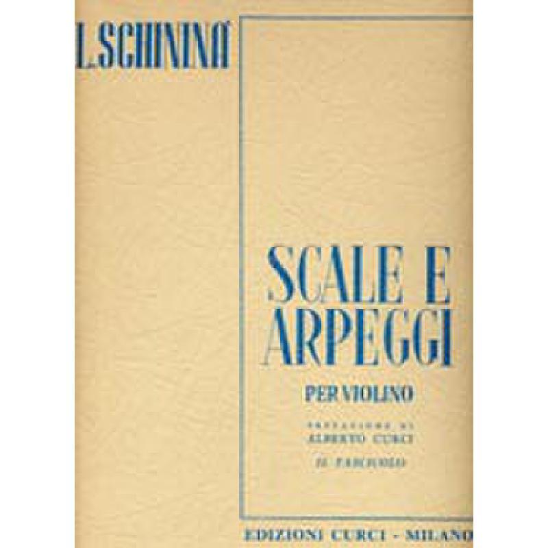Titelbild für CURCI 2474B - SCALE E ARPEGGI 2