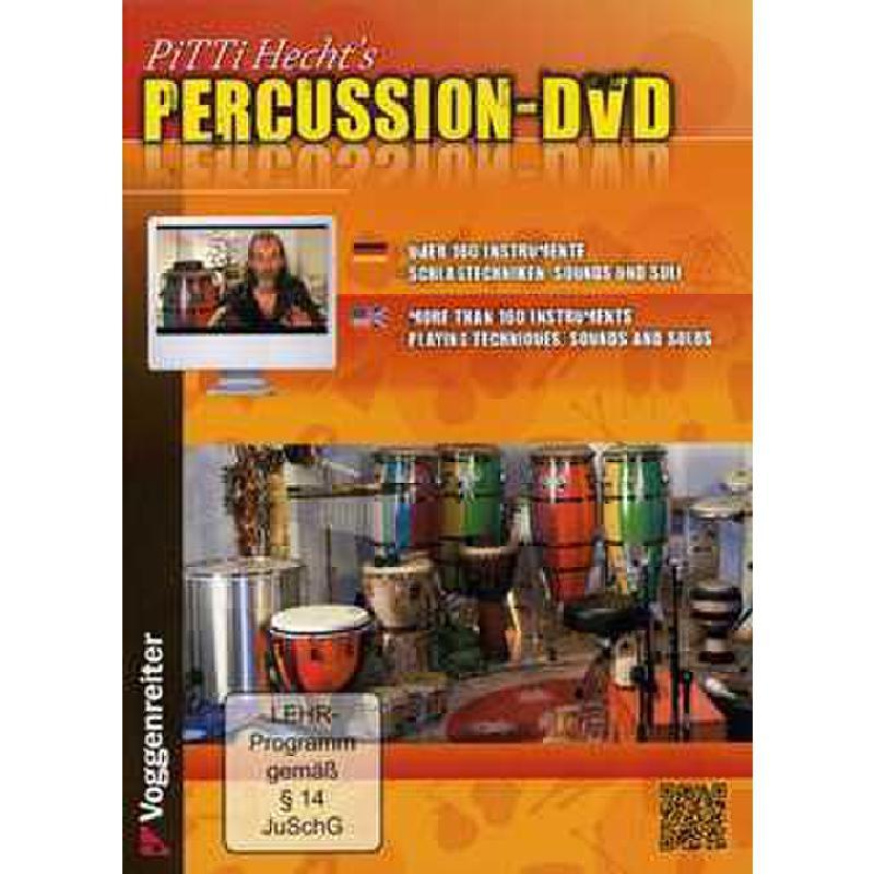 Titelbild für VOGG 0846-5 - PERCUSSION DVD