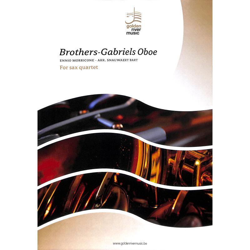 Titelbild für GOLDEN 7002044 - BROTHERS GABRIELS OBOE