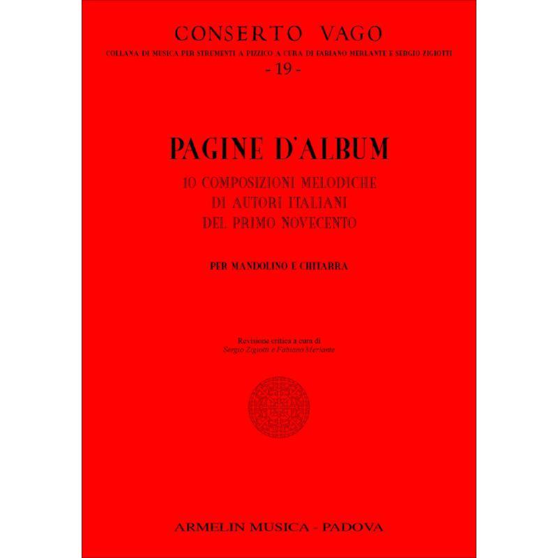 Titelbild für ARMELIN -CV-019 - PAGINE D'ALBUM