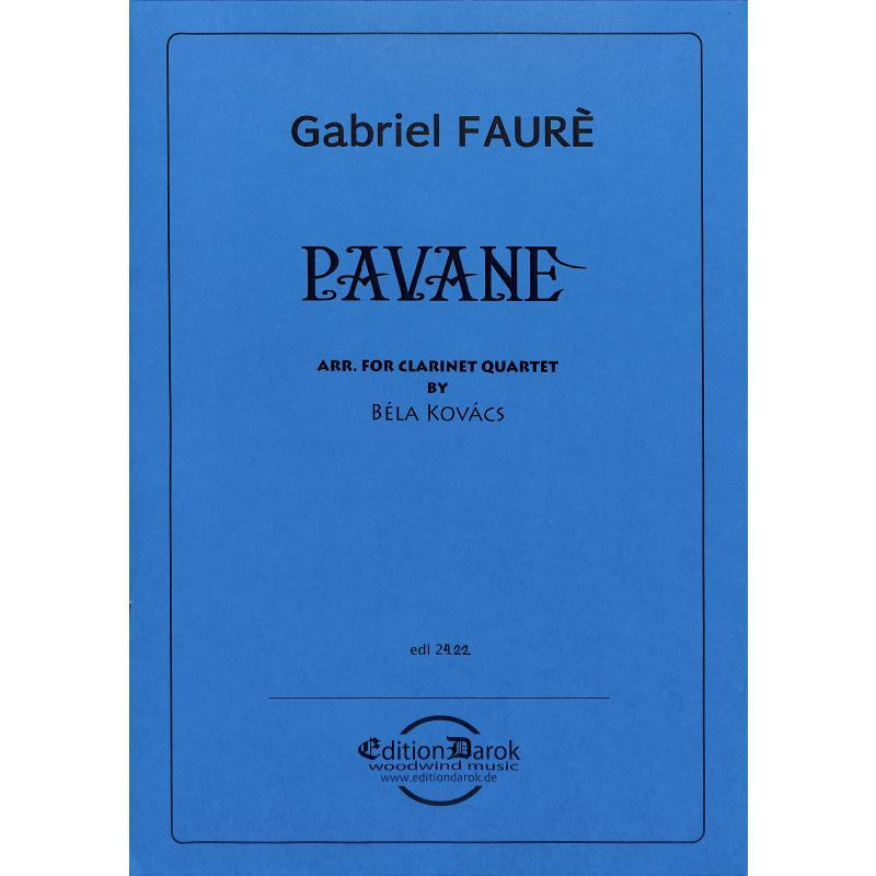 Titelbild für EDL 2422 - PAVANE
