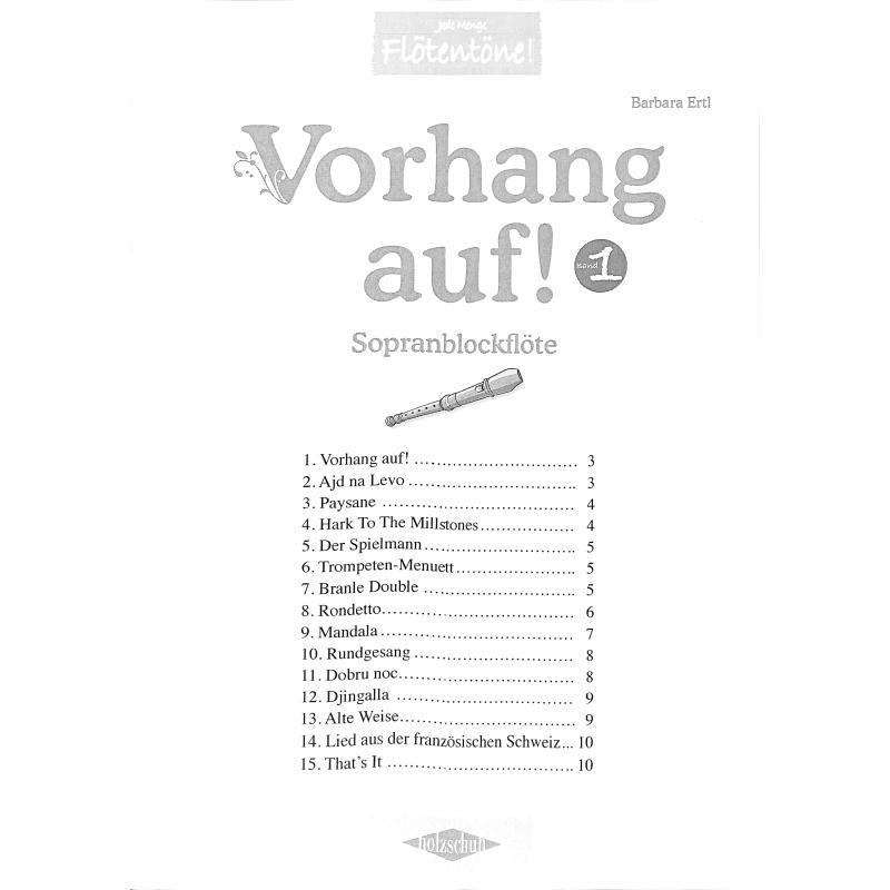 Titelbild für VHR 3625-S - VORHANG AUF 1 - SPIELBUCH