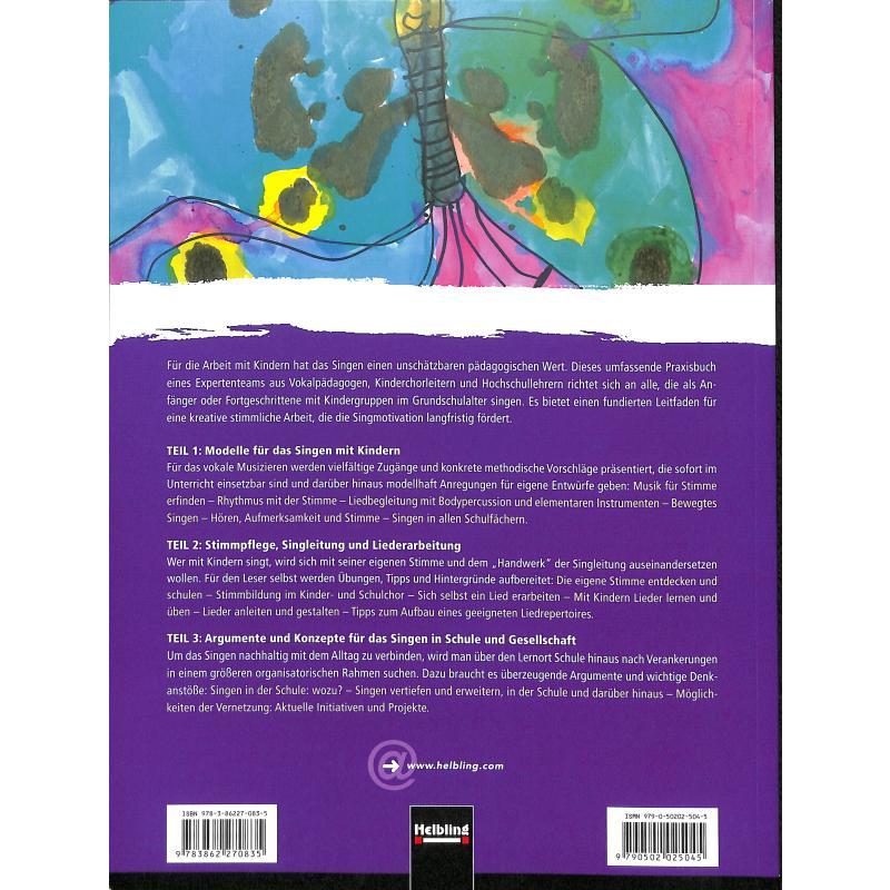 Notenbild für HELBL -S6750 - SINGEN IN DER GRUNDSCHULE