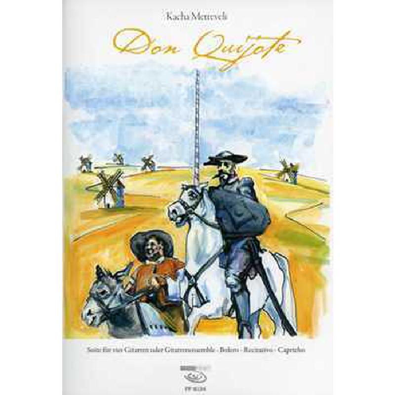 Titelbild für FP 8124 - Don Quichote Suite