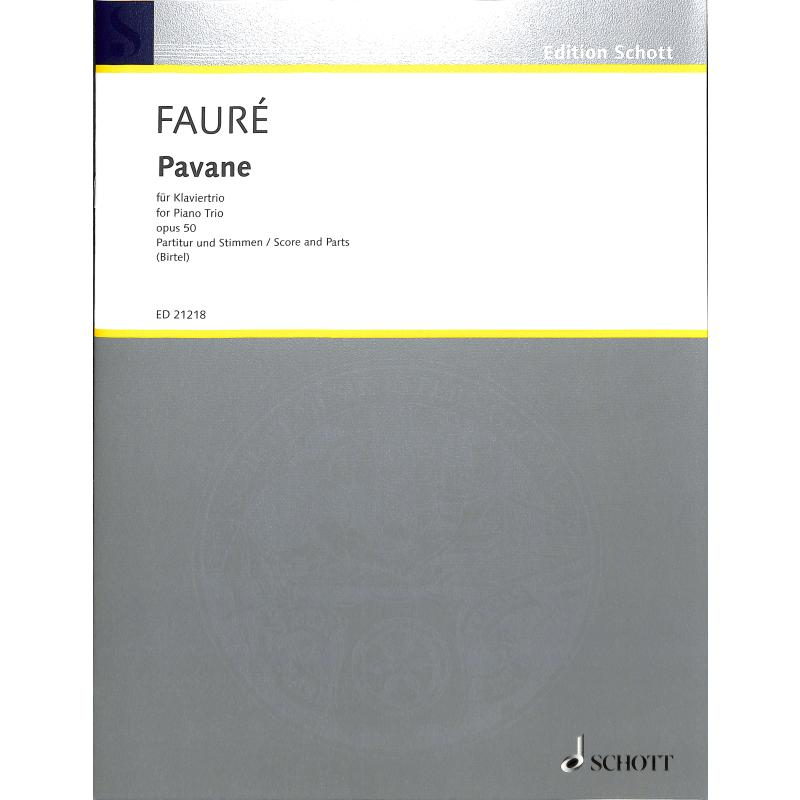 Titelbild für ED 21218 - PAVANE OP 50