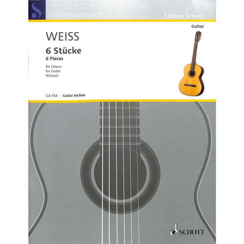 Titelbild für GA 554 - 6 STUECKE