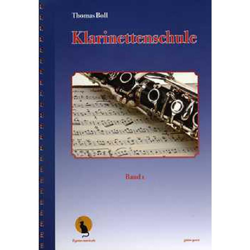 Titelbild für GATTO 9001 - KLARINETTENSCHULE 1