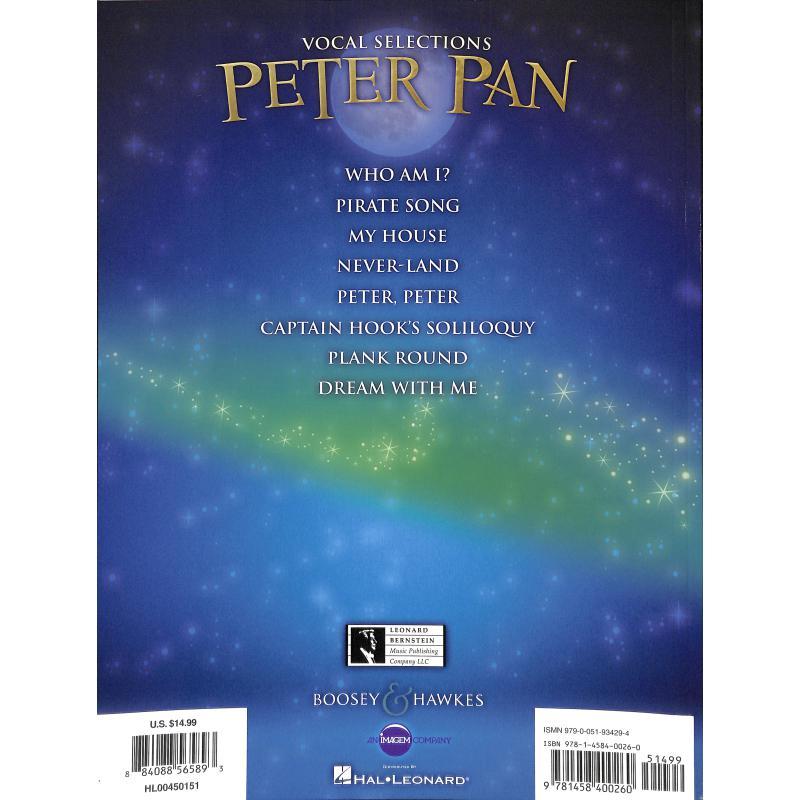 Notenbild für HL 450151 - PETER PAN