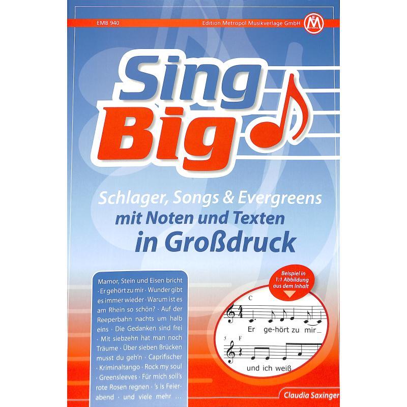 Titelbild für METEMB 940 - SING BIG