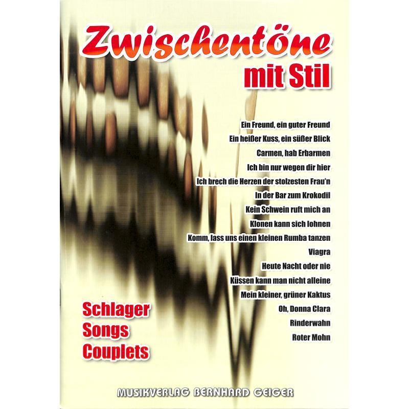 Titelbild für GEIGER -SB65 - ZWISCHENTOENE MIT STIL