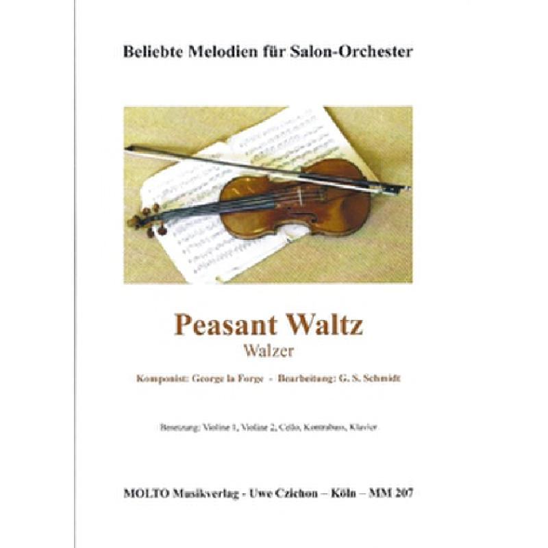 Titelbild für METMM 207 - PEASANT WALTZ
