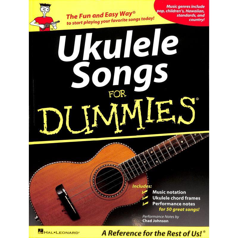 Titelbild für HL 701718 - UKULELE SONGS FOR DUMMIES