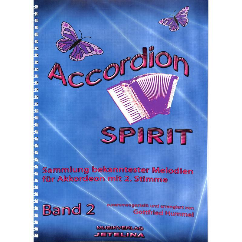 Titelbild für JETELINA 71011320 - ACCORDION SPIRIT 2