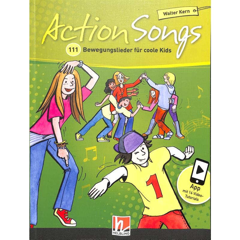 Titelbild für HELBL -S6937 - Action Songs   111 Bewegungslieder fuer coole Kids