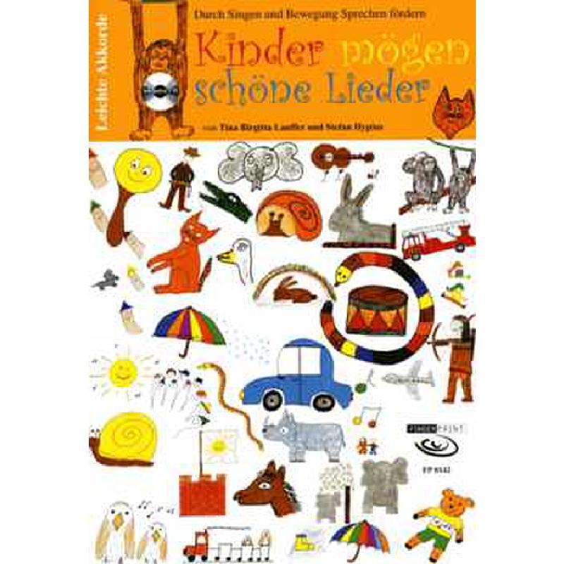 Titelbild für FP 8142 - Kinder mögen schöne Lieder | Durch Singen und Bewegung Sprechen förder