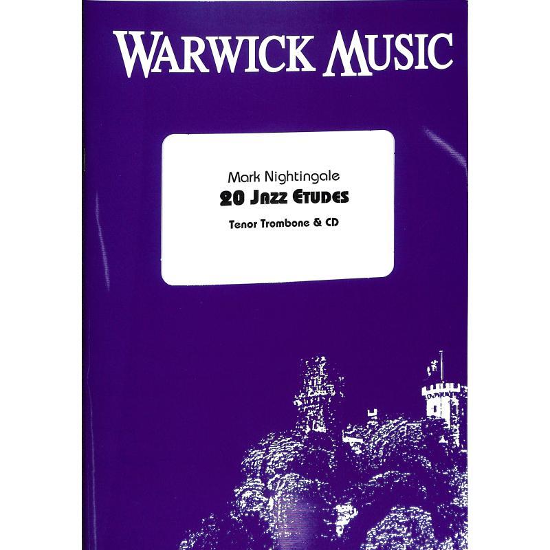 Titelbild für WWM -B164 - 20 Jazz Etudes