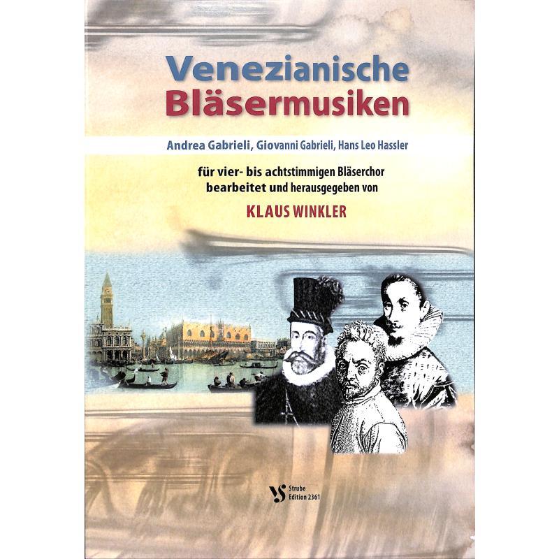 Titelbild für VS 2361 - Venezianische Bläsermusiken