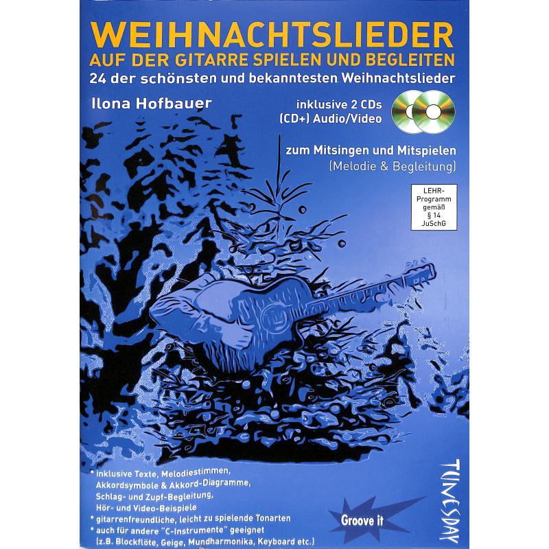 Titelbild für TUN 07 - WEIHNACHTSLIEDER AUF DER GITARRE SPIELEN UND BEGLEITEN