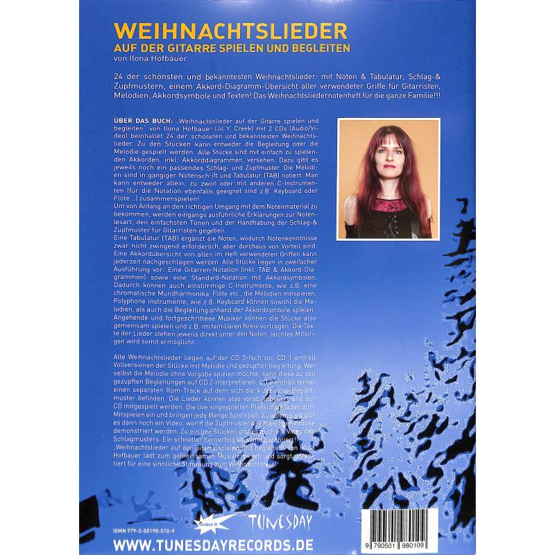 Notenbild für TUN 07 - WEIHNACHTSLIEDER AUF DER GITARRE SPIELEN UND BEGLEITEN