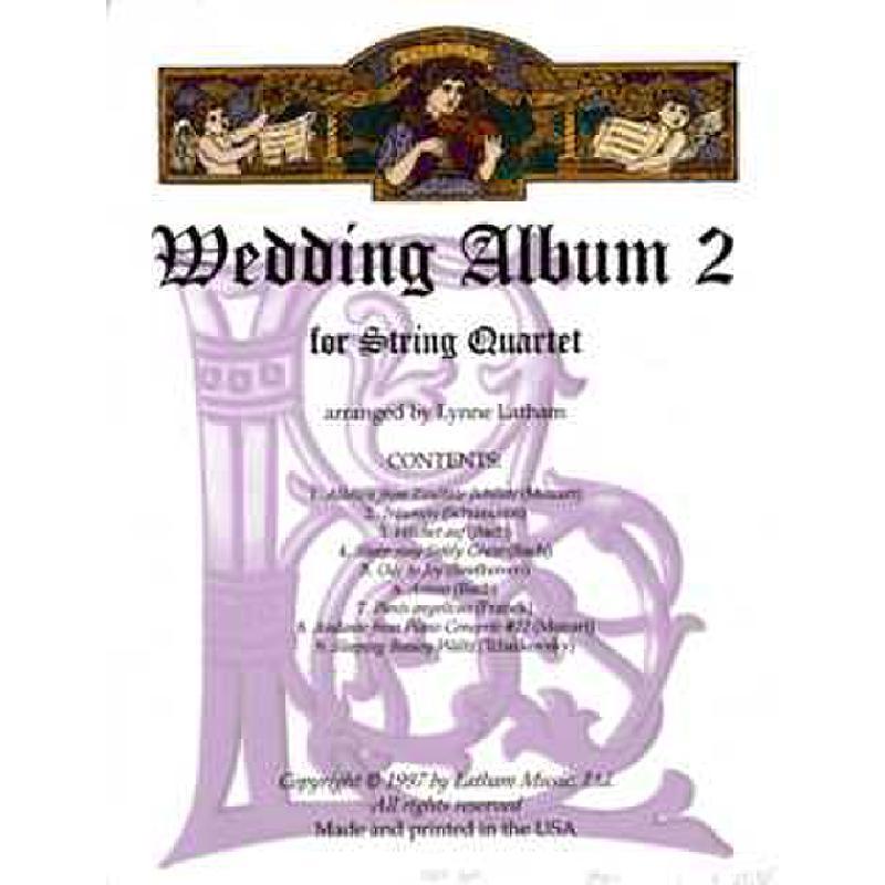 Titelbild für LATHAM 17703156 - Wedding album 2