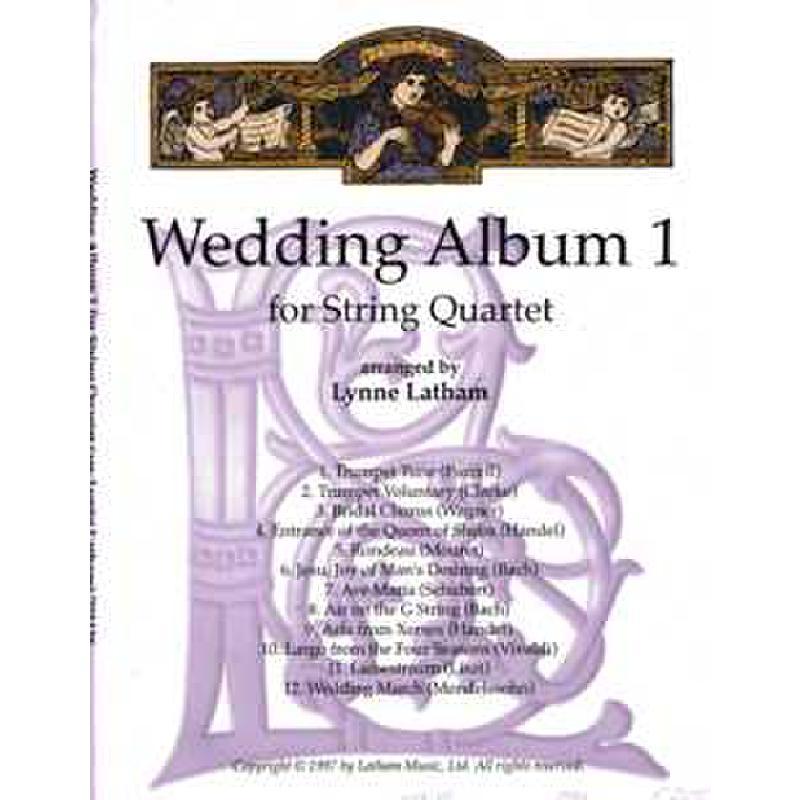 Titelbild für LATHAM 703136 - Wedding album 1
