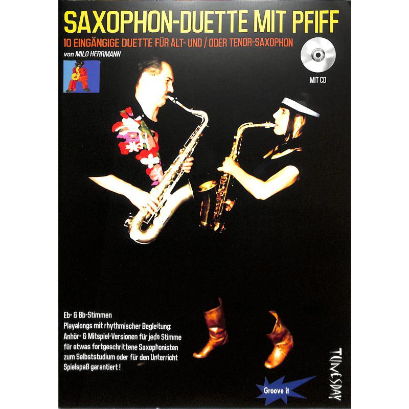 Titelbild für TUN 10 - SAXOPHON DUETTE MIT PFIFF