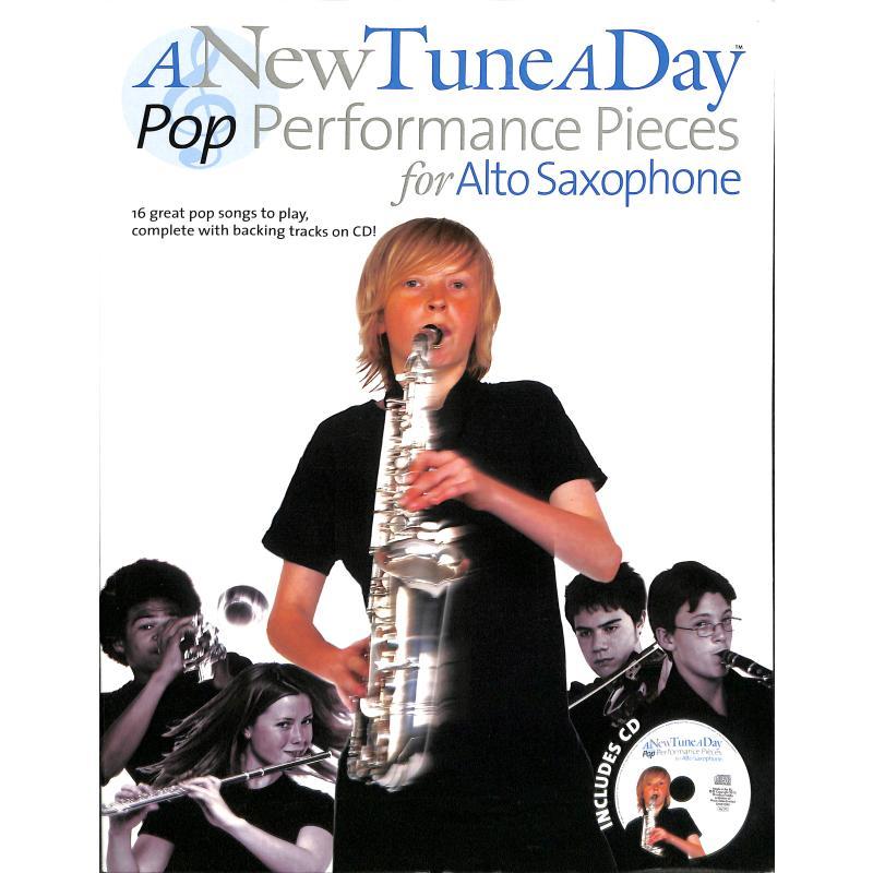 Titelbild für MSBM 12661 - A NEW TUNE A DAY - POP PERFORMANCE PIECES