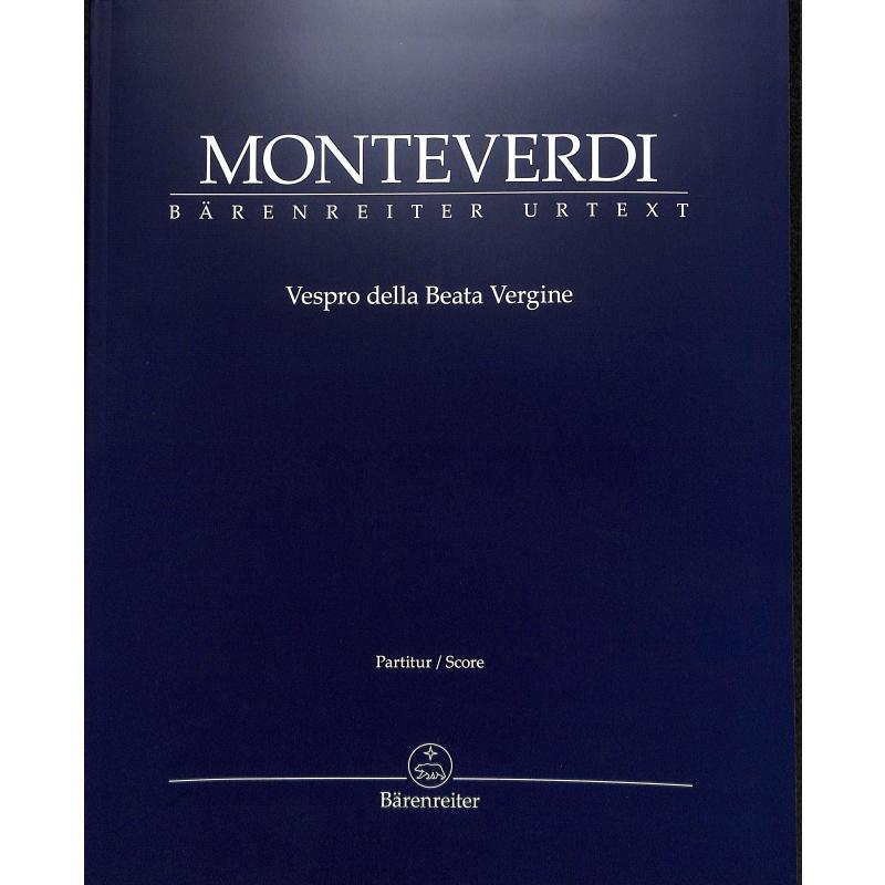 Titelbild für BA 8794 - VESPRO DELLA BEATA VERGINE