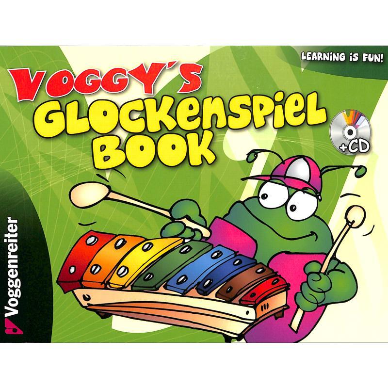 Titelbild für VOGG 0460-3 - Voggy's Glockenspiel book